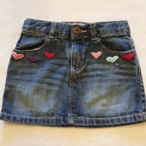 ❤Darling Baby Gap jean skirt